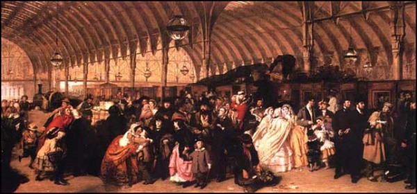 William Frith, La stazione ferroviaria, 1862