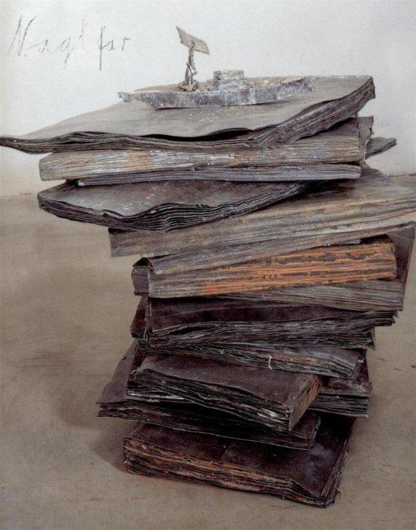 Anselm Kiefer, Naglfar, 1998