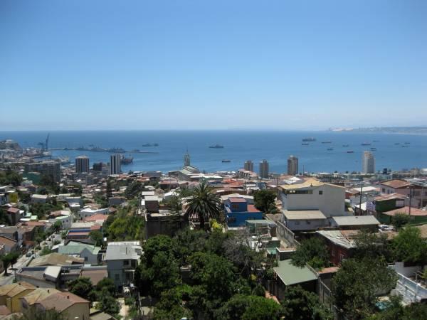 Valparaiso vista da La Sebastiana