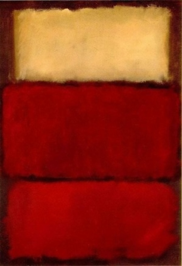 "Mark Rothko ""Untitled Red"" (1964)"