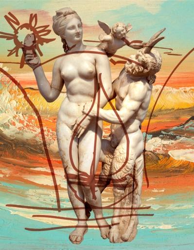 Jeff Koons Antiquity 1, 2010 (Antiquity) Oil on canvas, 274.3 x 213.4 cm © Jeff Koons